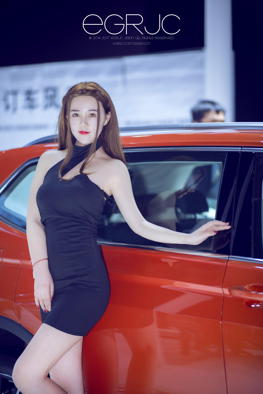 2017重庆国际车展美女车模 张绵绵 刘瑞 余瑶瑶 性感优雅出镜