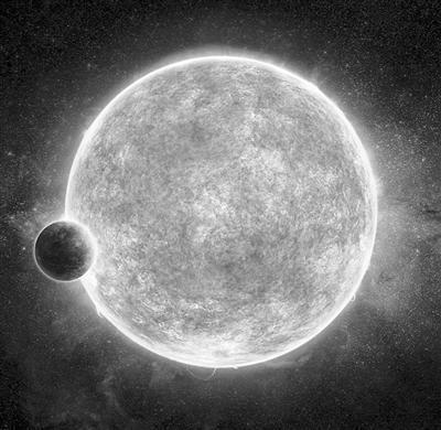 """新""""超级地球""""现身:温度适中 可能有液态水"""