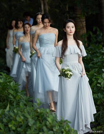 演员周扬苏梅岛举行婚礼 刘亦菲担任伴娘很抢眼