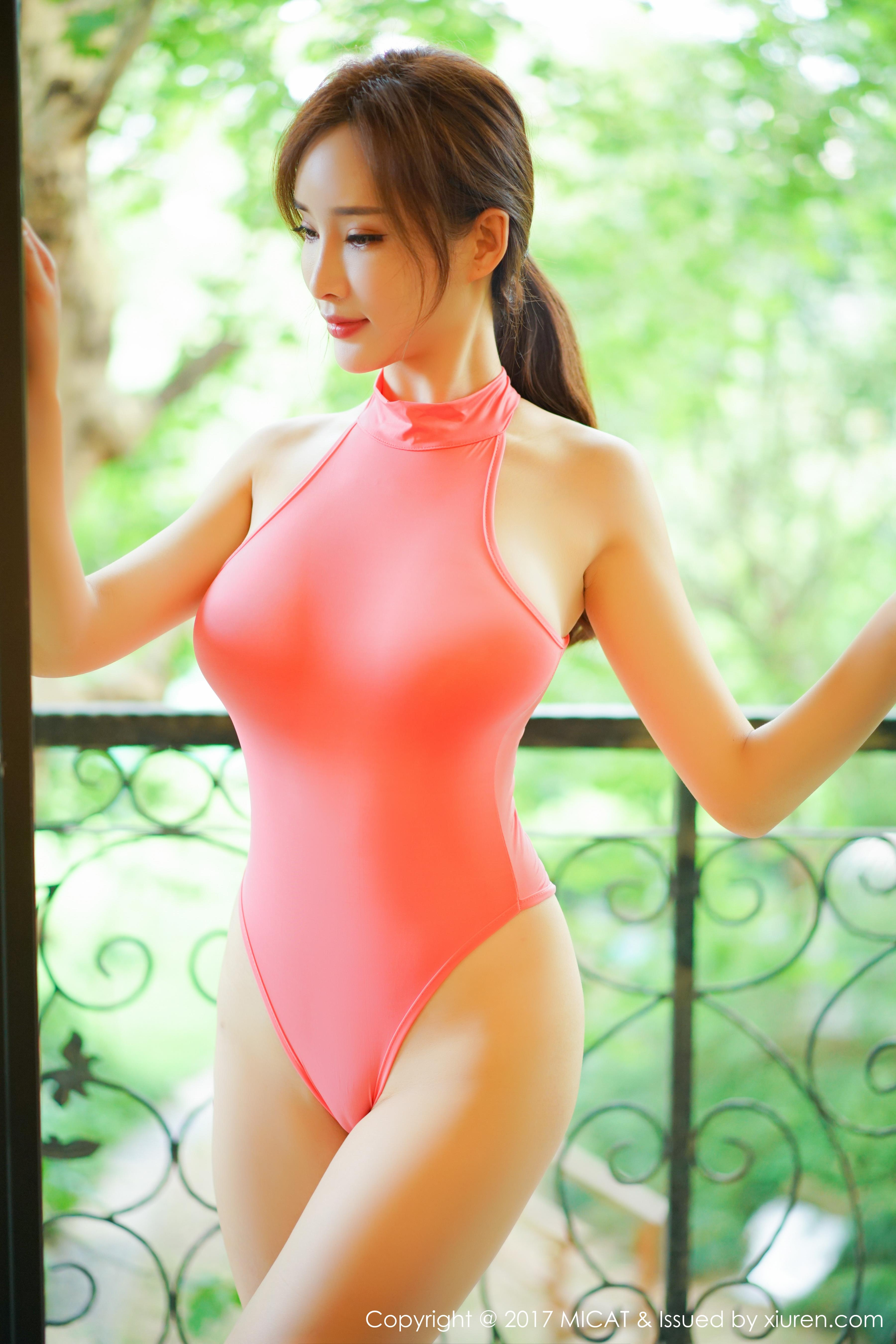 [MICAT猫萌榜]MCT20170807VOL0026 土肥圆矮挫穷 性感比基尼泳装与红色短裙私房写真集
