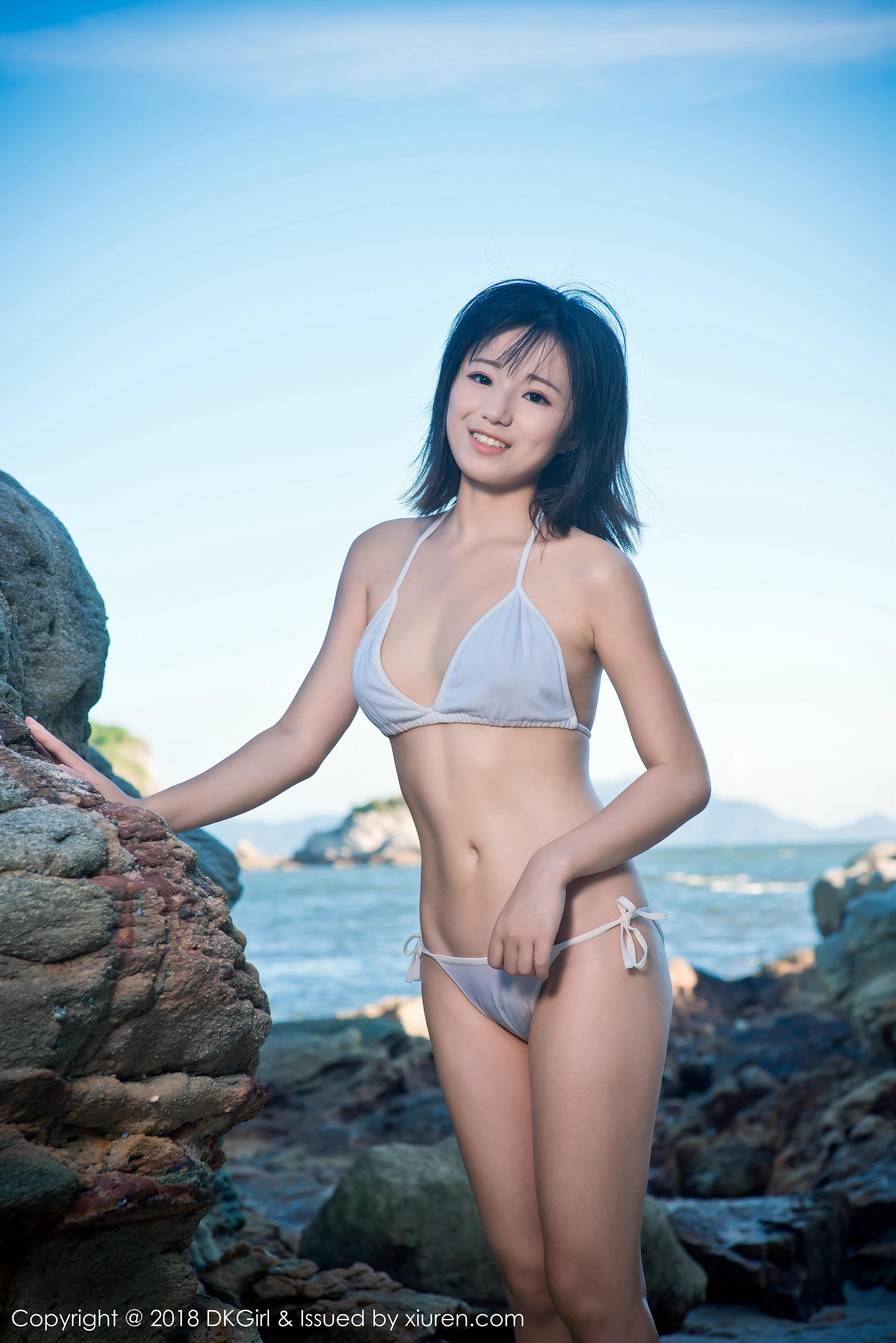 [DKGirl御女郎]DK20180212VOL0058 苍井优香 性感比基尼泳装大尺度私房写真集
