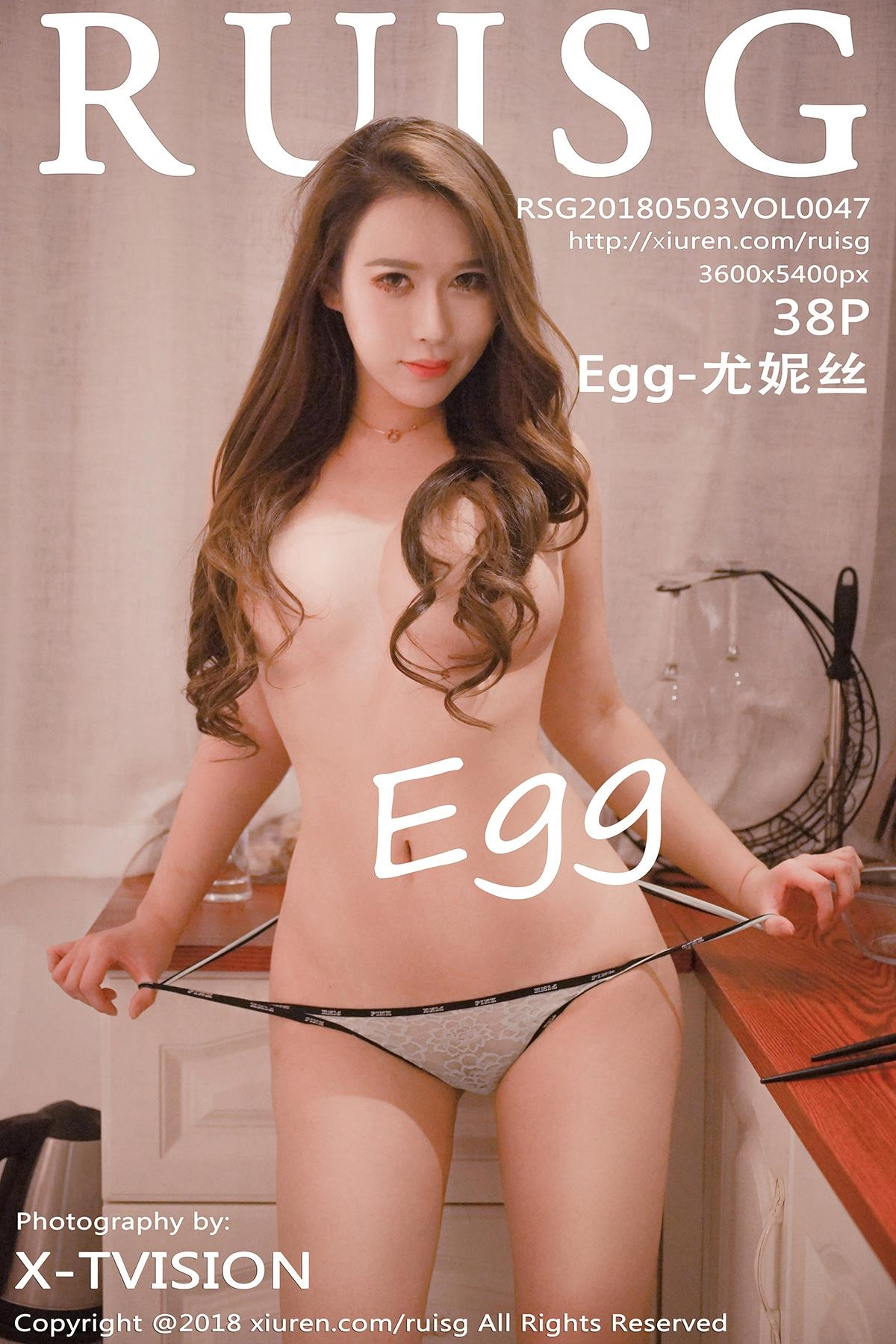 [RUISG瑞丝馆]RSG20180503VOL0047 Egg-尤妮丝 半裸性感玉体大尺度私房写真集