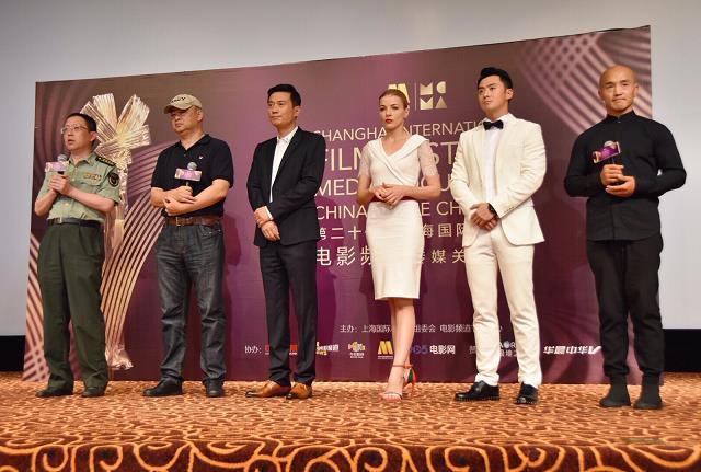 《中国蓝盔》入围上影节,主演沈浩备受关注
