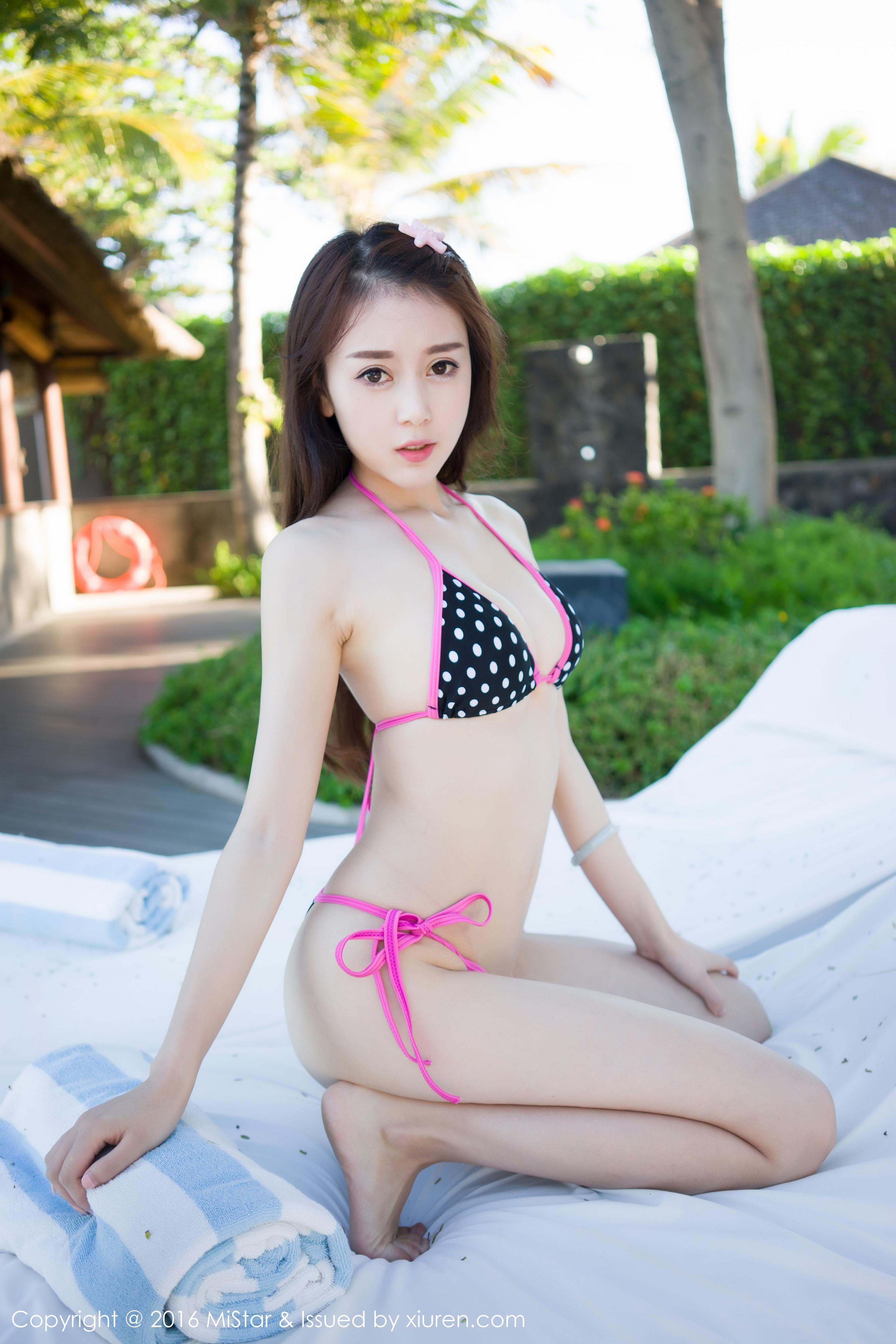 [MiStar魅妍社]MS20160906VOL0114 赵小米Kitty 性感情趣比基尼泳装私房写真集