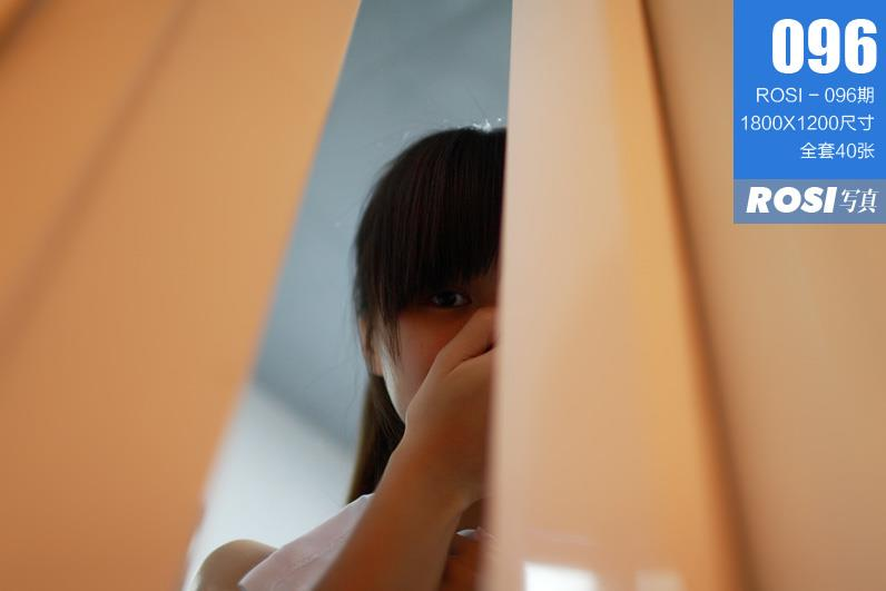[ROSI写真]No.096 性感高中女生酒店脱衣全过程