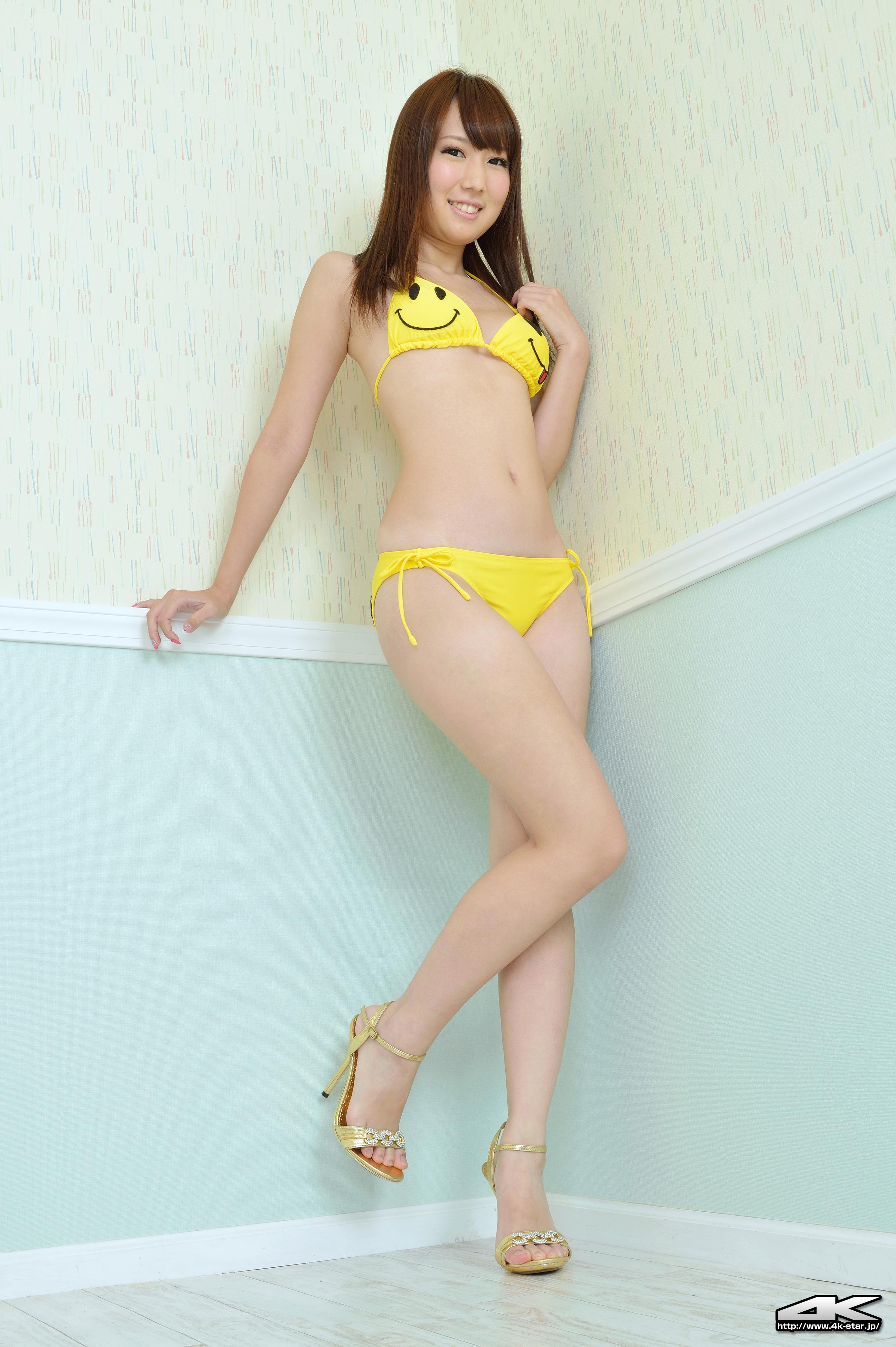 [4K-STAR套图]No.00126 高橋七海(高桥七海,Nanami Takahoshi)黄色性感比基尼泳装私房写真集