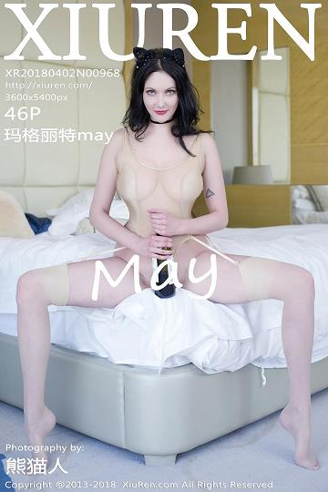 [XIUREN秀人网]XR20180402N00968 玛格丽特May 连体透视情趣内衣与红色蕾丝塑身内衣性感私房写真集