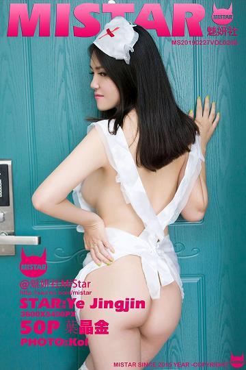 [MiStar魅妍社]MS20190227VOL0268 葉晶金 粉色情趣内衣与性感女护士?#21697;?#31169;房写真集