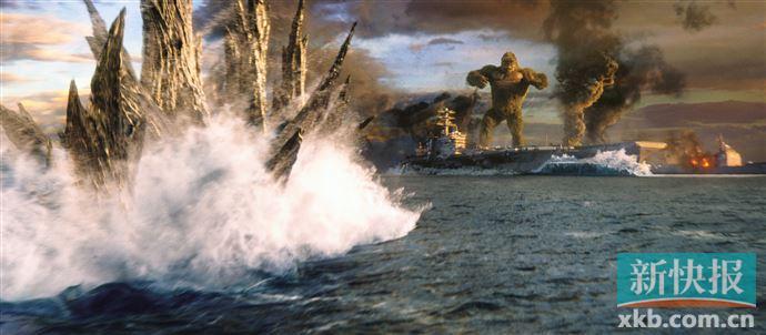 《哥斯拉大战金刚》票房超9亿
